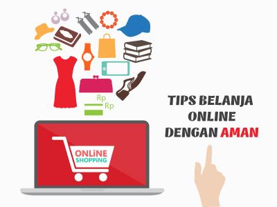 Tips belanja online dengan AMAN.
